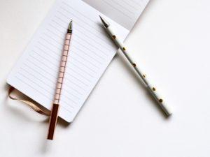 日誌を書く