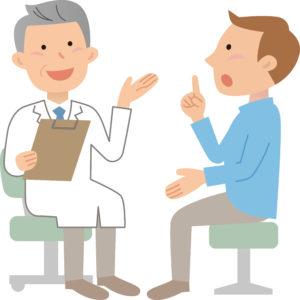 医師と相談
